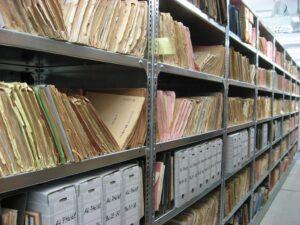 MAMMUT Deutschland Archivräumung Aktenordner